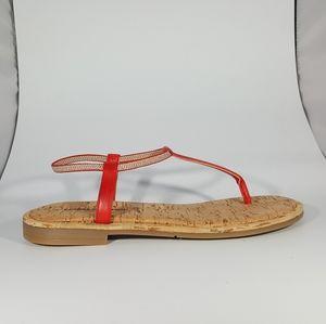 NR Rapisardi Thong Sandal with Elastic Bands